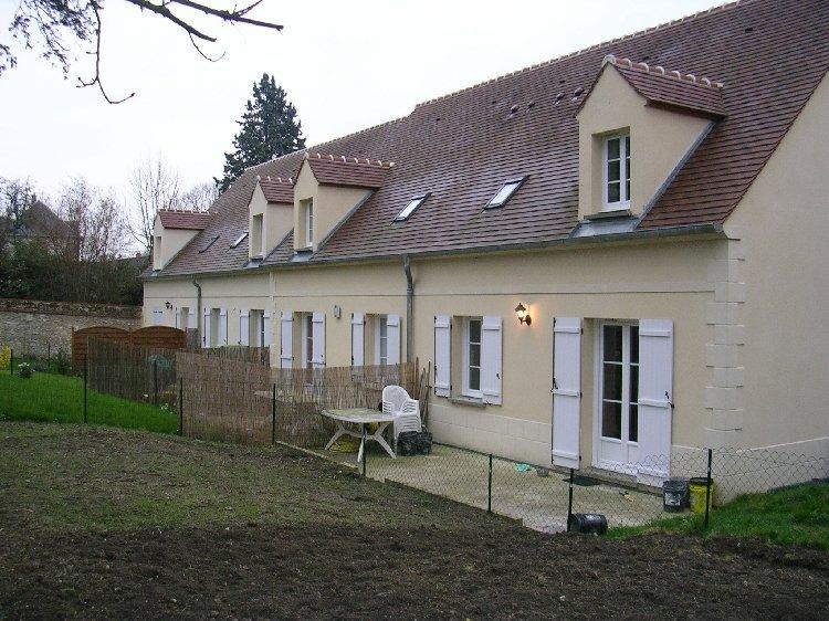 3 chambres façades arrière