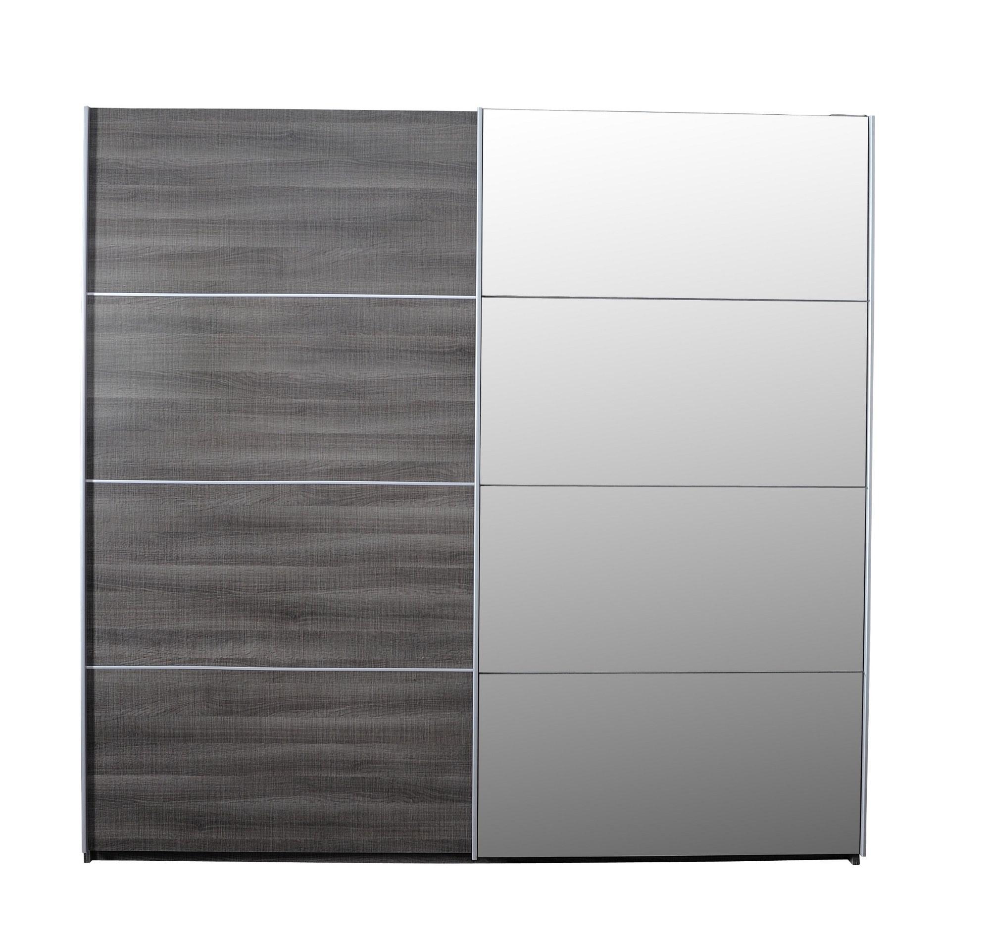 armoire luméo 56 2 portes coulissante 1 glace