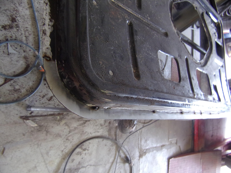 greffe sur retour intérieur de porte ( suite de la photo n° 1