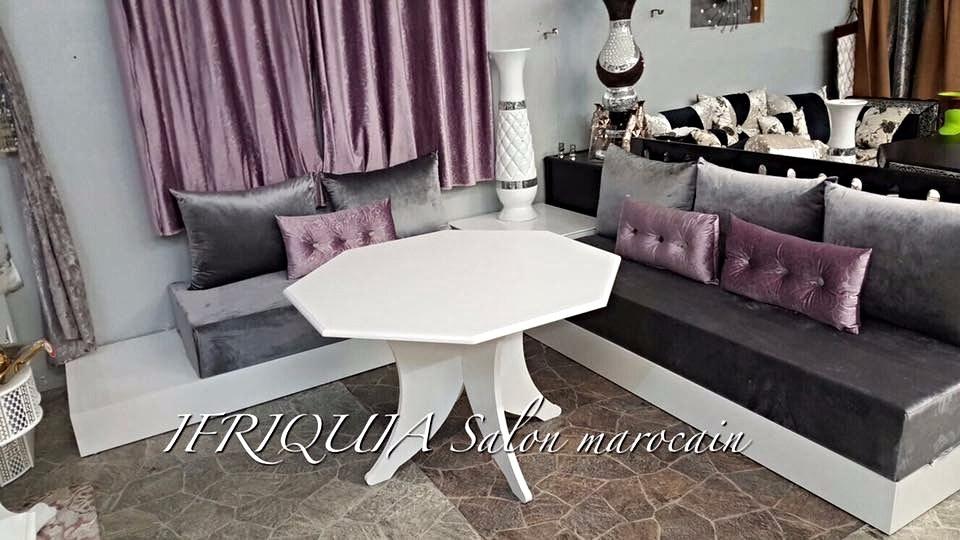 G photos ifriquia valence salons orientaux sur mesure valence 26000 - Salon moderne blanc ...