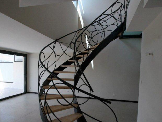 escalier ferronnerie