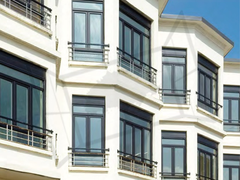 pvc gris 7016 appartement zendox