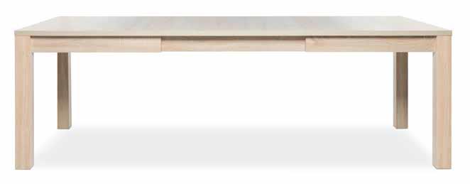 table shape extensible ouverte