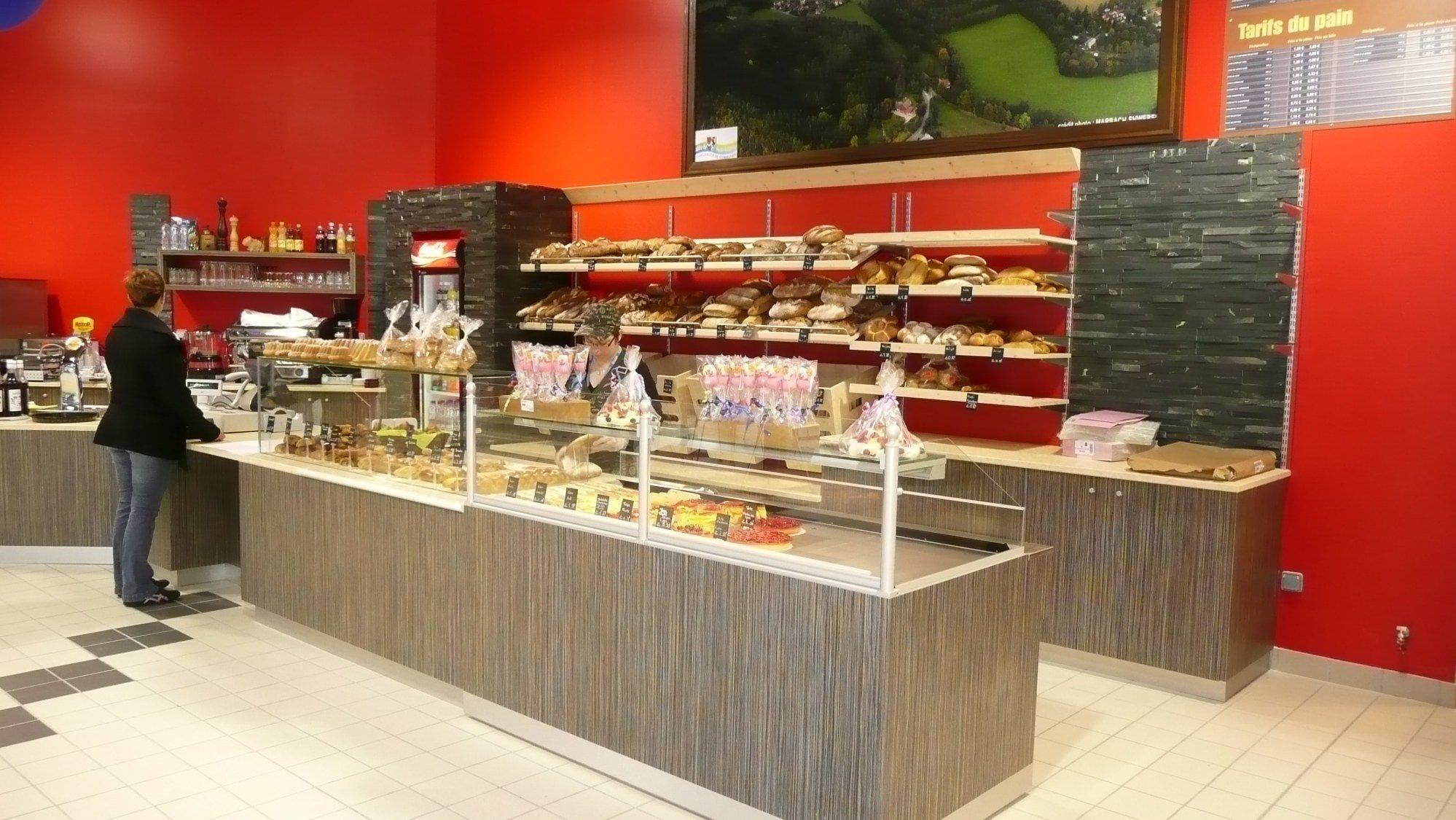Agencement boulangerie VUILLEMIN