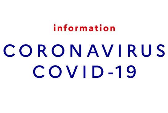 INFORMATION COVID - ACCUEIL DU PUBLIC