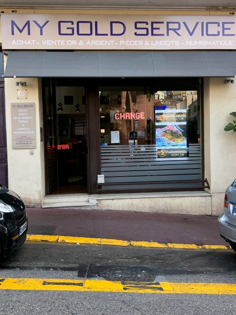 Magasin de Cannes – My gold Services