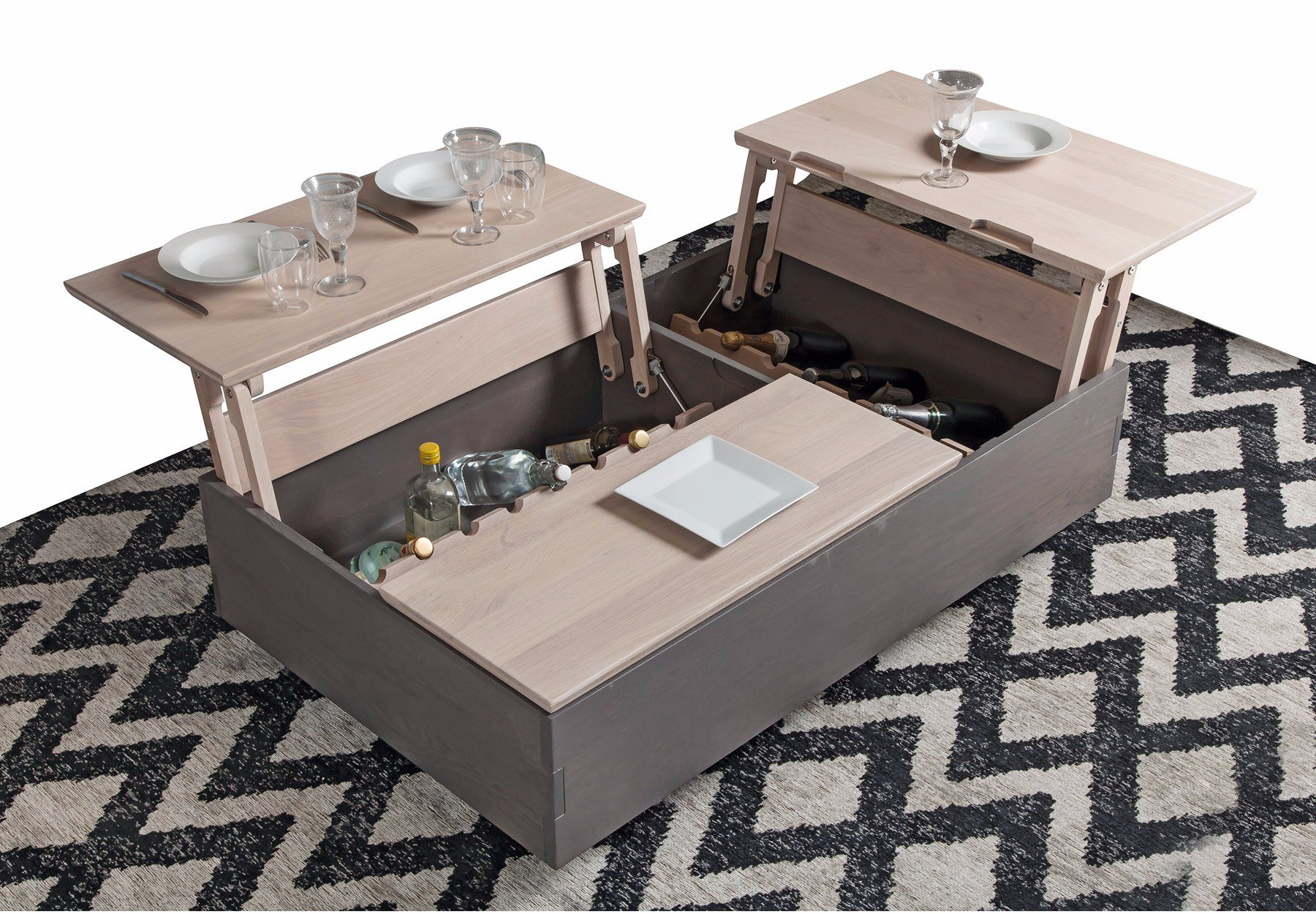 Portland Table Basse Dinette Fabricants Reunis Meubles Decorations