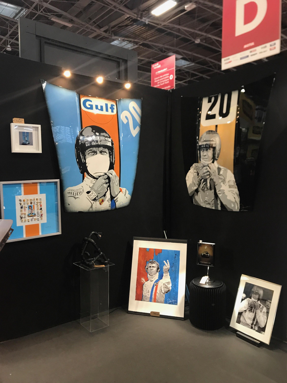 OEUVRES CAPOTS PORSCHE /ARTISTE EDU DANESI