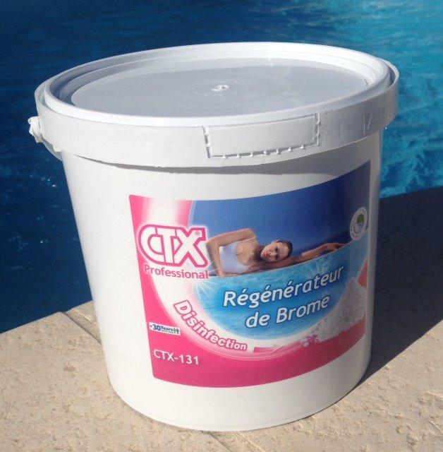 regenateur de brome piscine