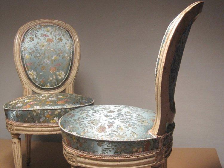 Chaise tapissée Beccat Décoration Paray le Monial
