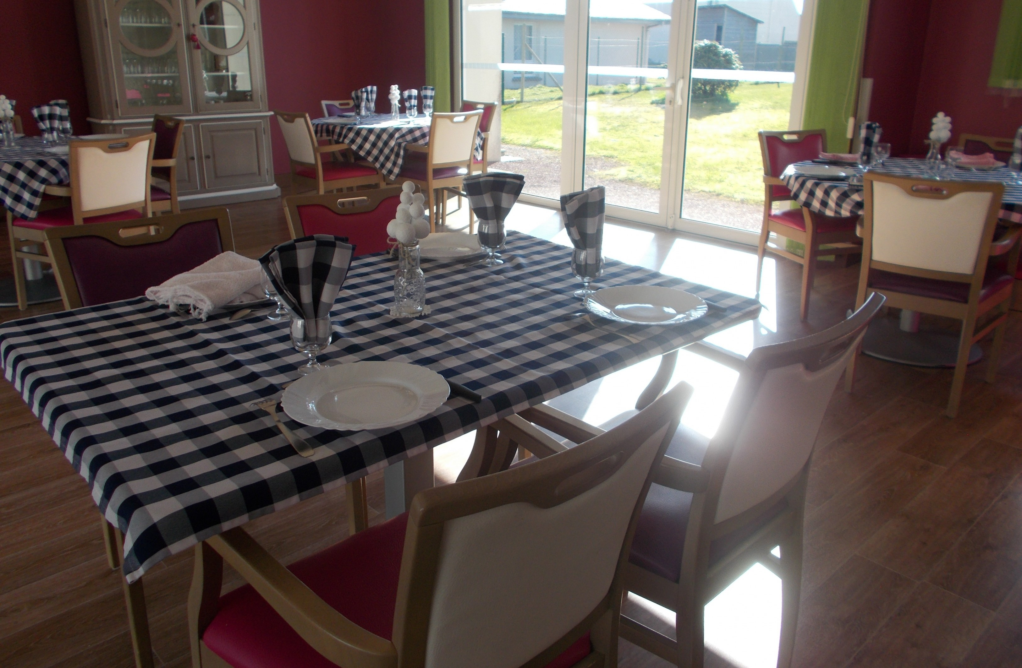 Tables pour notre repas d'HIVER