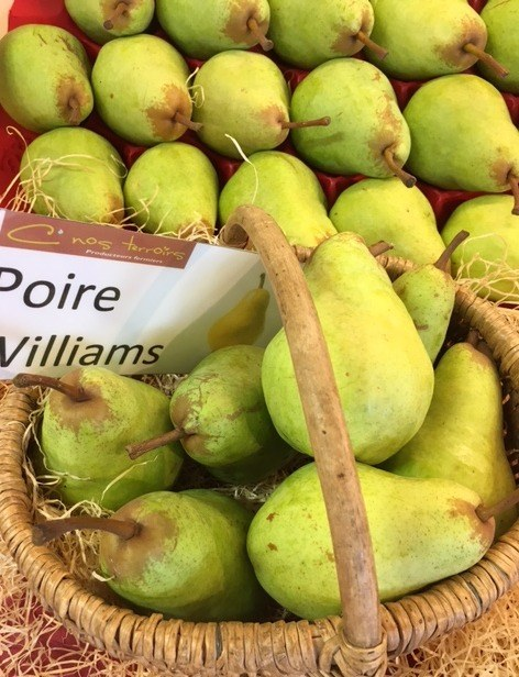 Poires Willaims