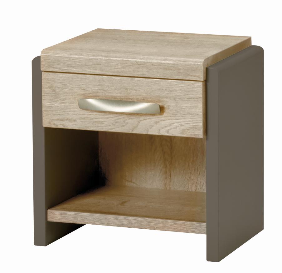 chevet calypso bois mélamine moderne