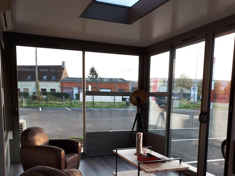 Direct-Véranda Steenbecque - confort²Vie - toiture plate