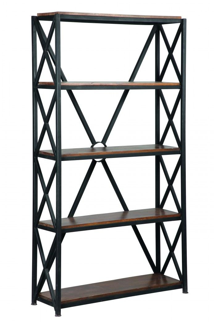 etagère réf:1801 acier bois