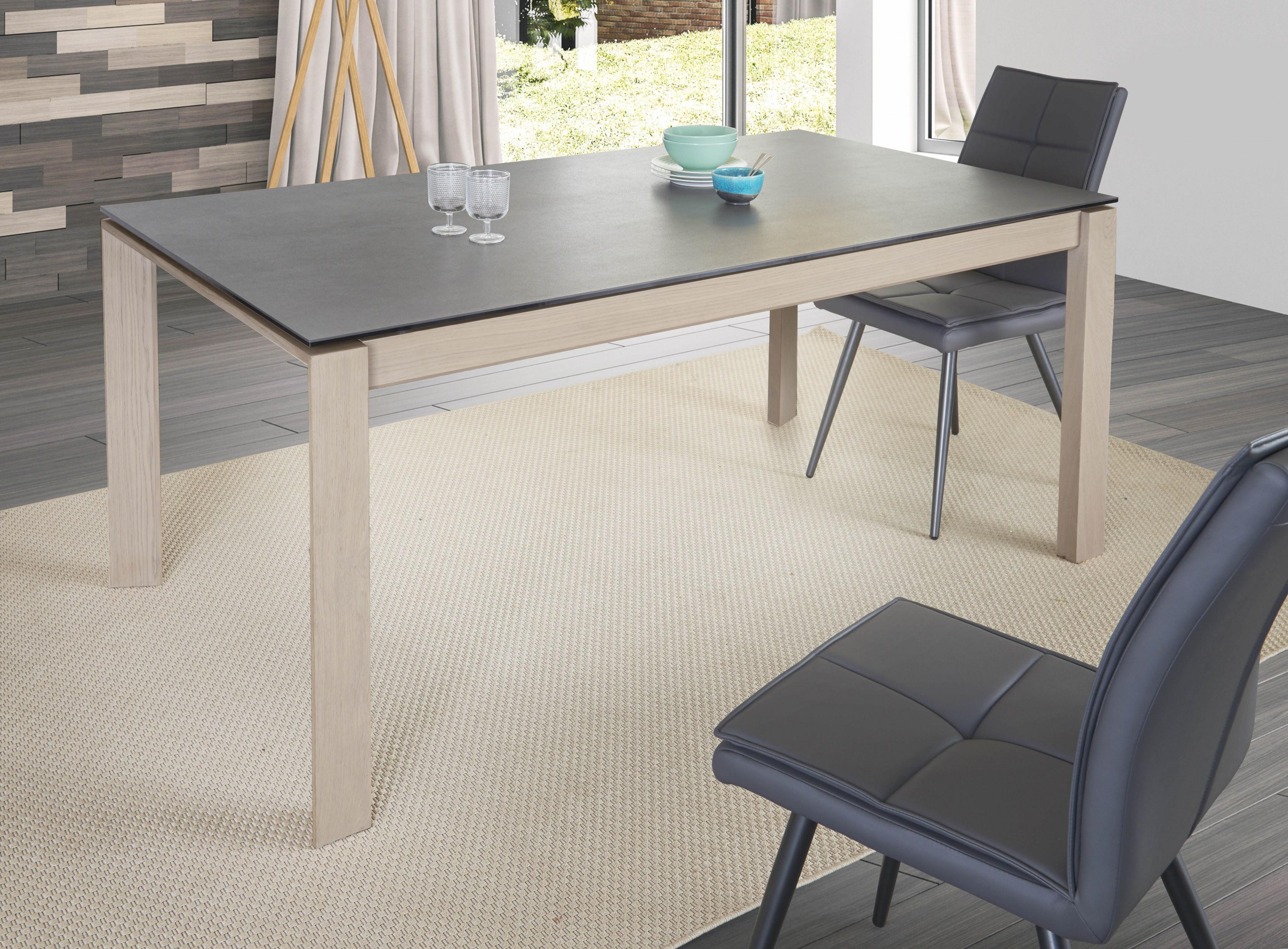 Table Vision Full Ceramique Rectangulaire 180x100 Fabricants Reunis