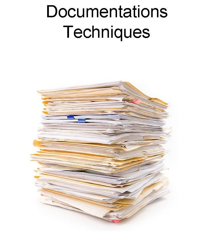 Documentations techniques