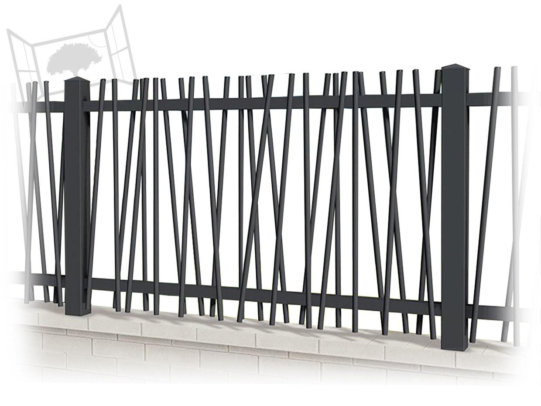 Clôture aluminium Anténor CL CT 29 barreaux Cloture design