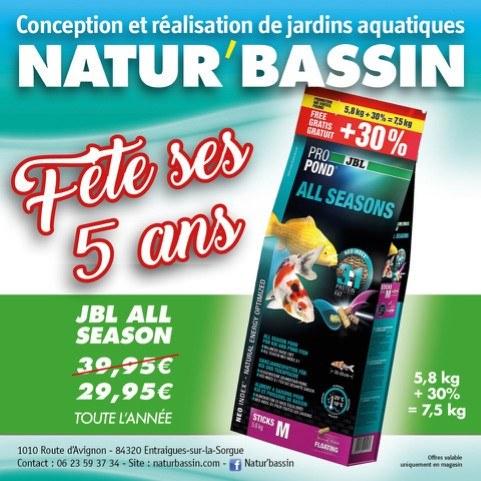 promotion-aliments-nourriture-poissons-natur bassin-poissons-Avignon