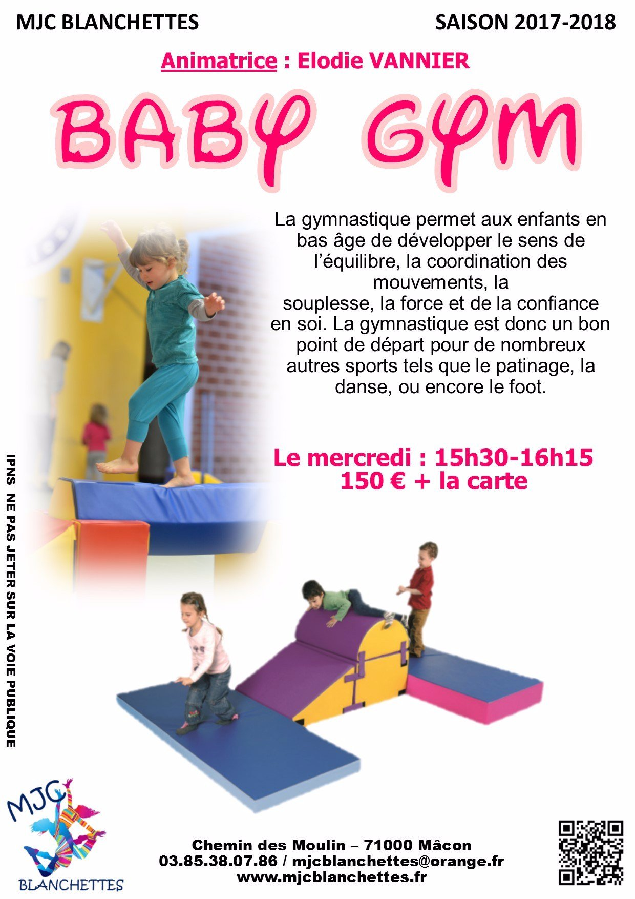 Baby gym mercredi