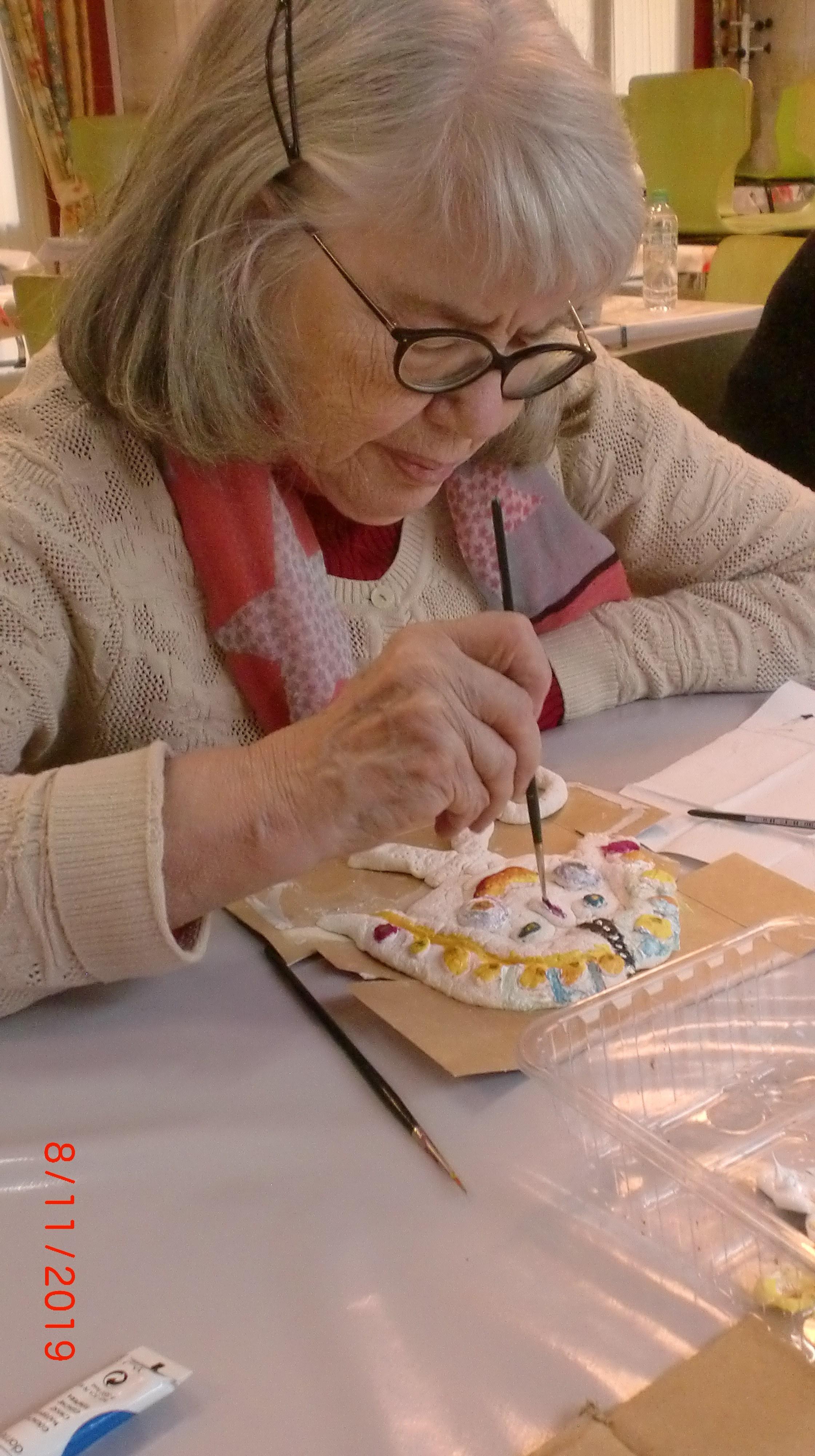 Entr'Aide Gardoise - Nîmes - Atelier créatif