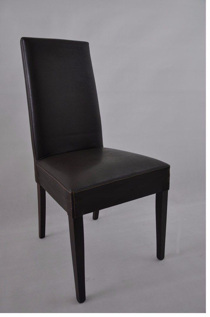 chaise gloria wengé