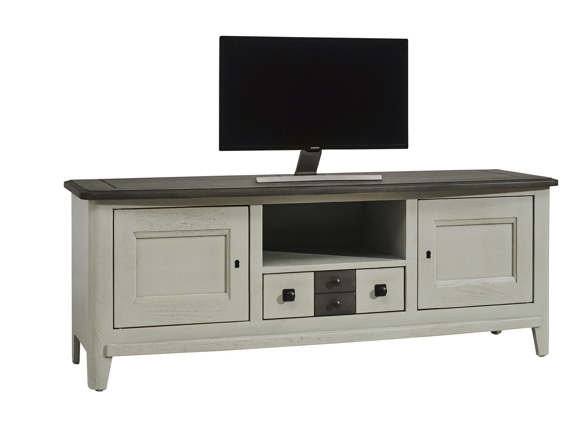 Séraphine chêne massif meuble TV