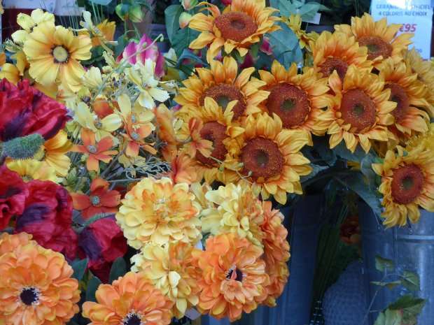 fleurs artificielles jardiland