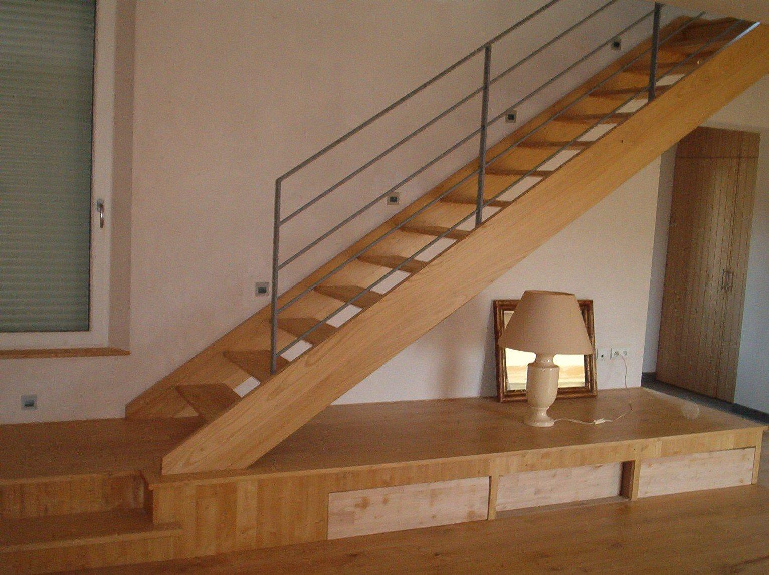 Escalier chataignier