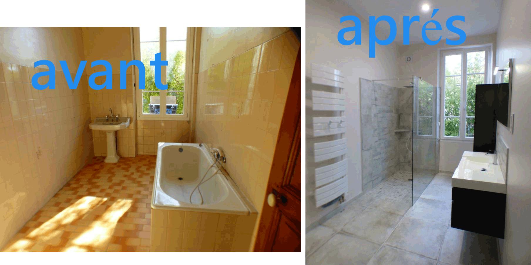 Rénovation Salle De Bain Avant Après rénovation salle de bain frédéric bodart, votre expert en