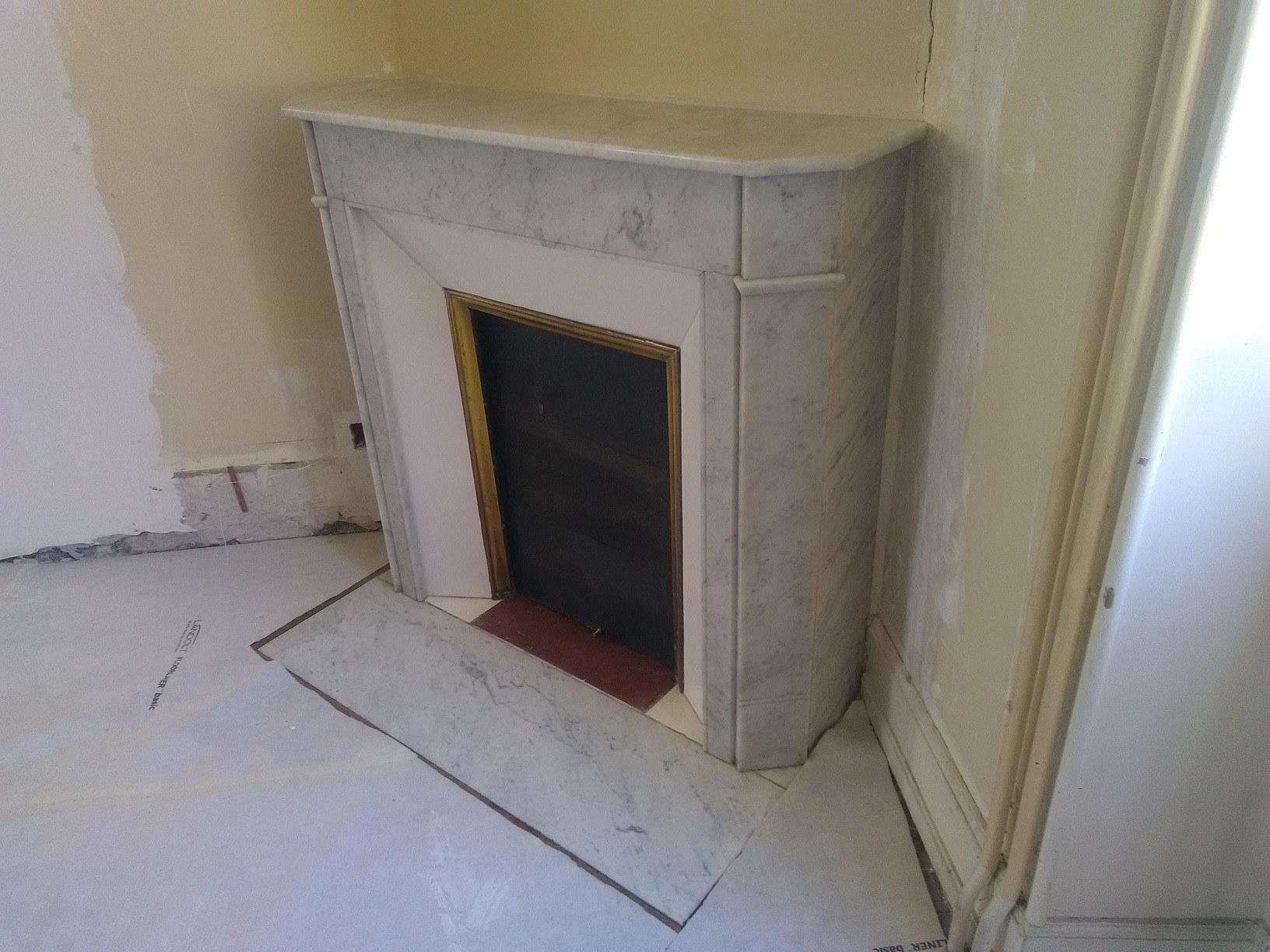 renovation cheminée en pierre