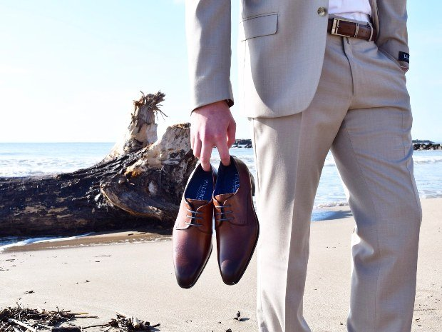 Chaussure homme camel mariage Beziers Narbonne Perpignan