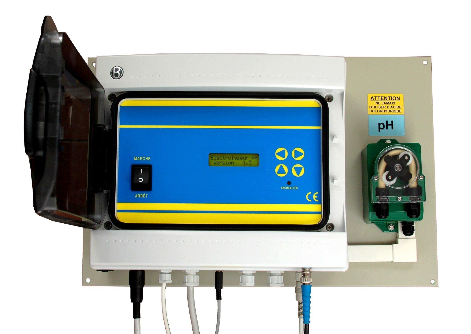 Electrolyseur de sel avec régulation pH