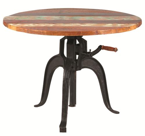 table à crémaillère 1823