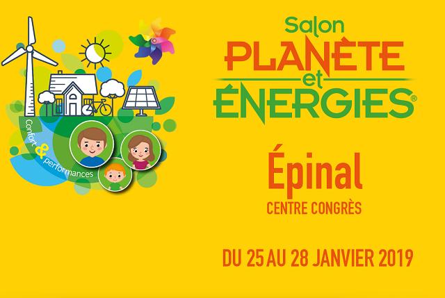 Salon planète et energie epinal