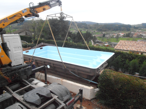 Construction de piscines