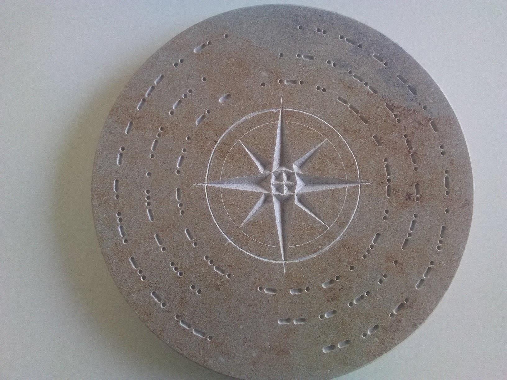 gravure sur pierre naturelle sur mesure