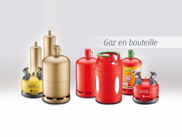 achat bouteille de gaz