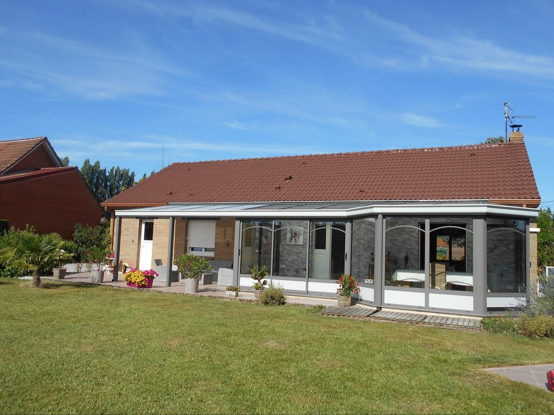 Véranda toiture monopente Direct Véranda (Direct Véranda) - Steenbecque 59189