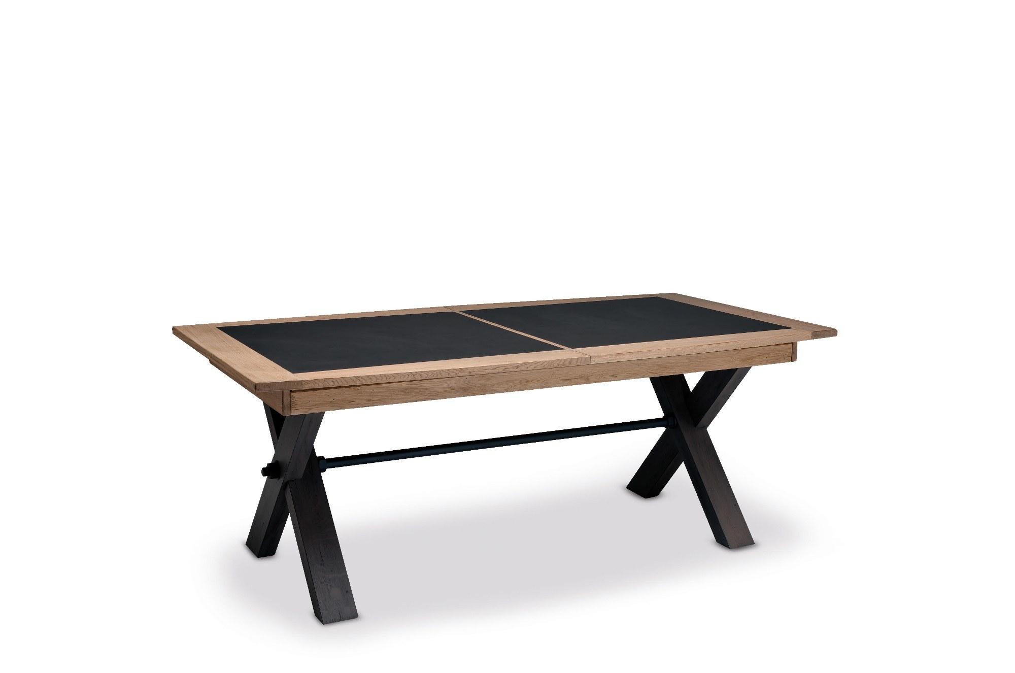 MAGELLAN TABLE PIED X DESSUS CERAMIQUE