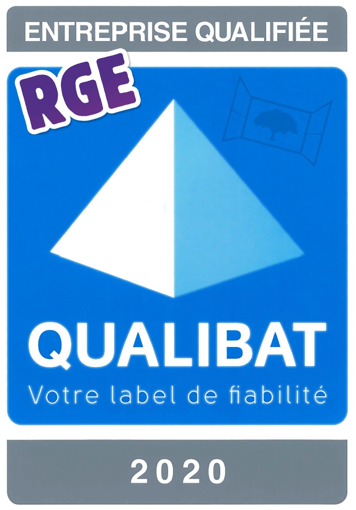 Logo RGE 2020 qualibat