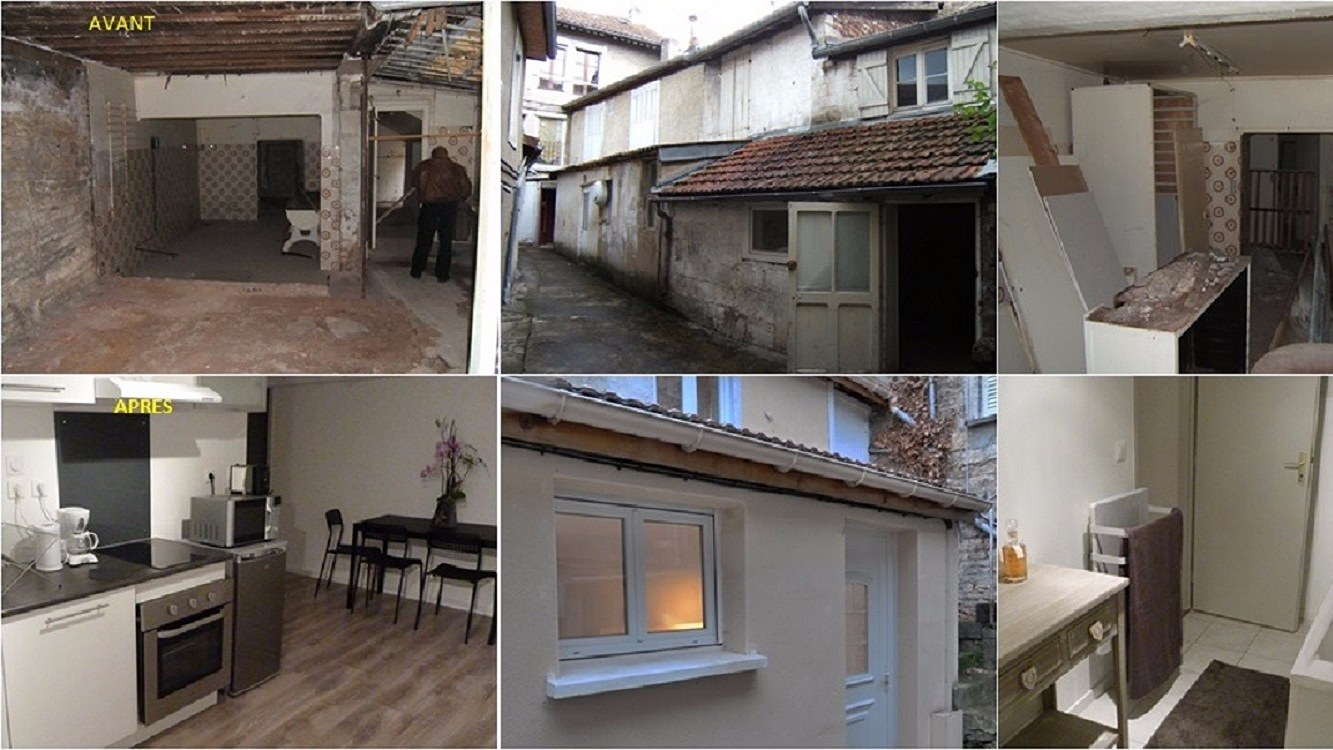ex renovation appartement dijon