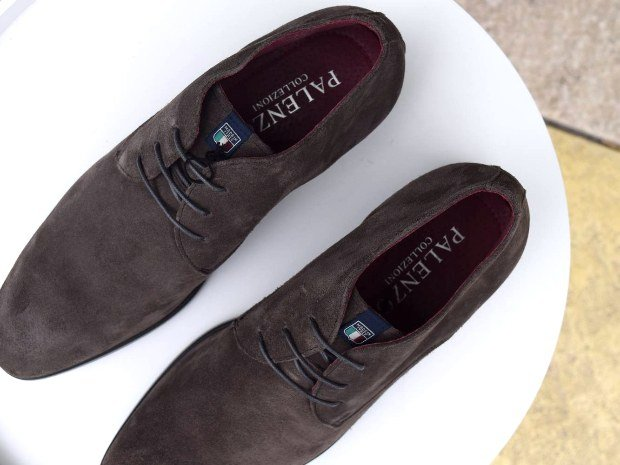 Chaussures daim homme