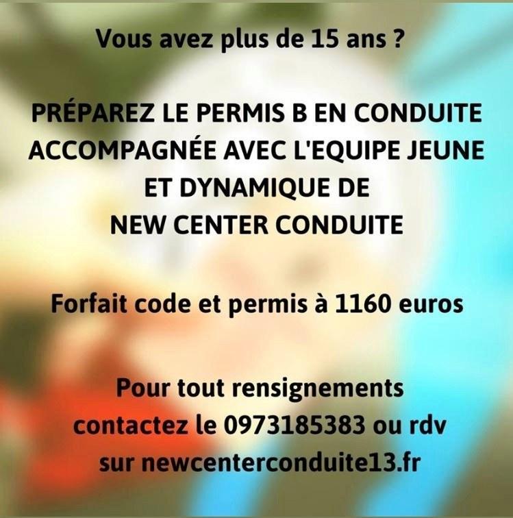 new center conduite