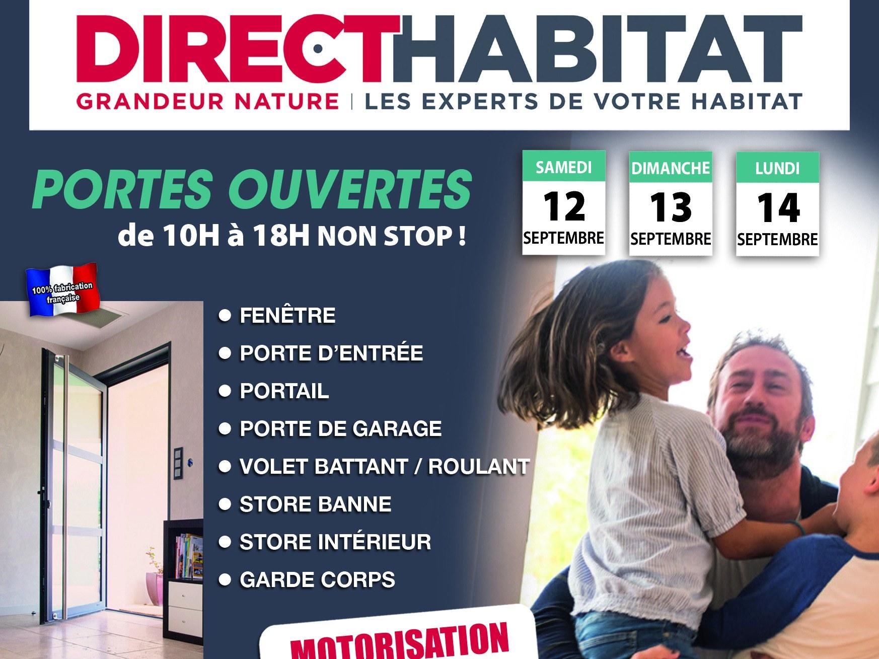 Portes ouvertes Direct-Habitat