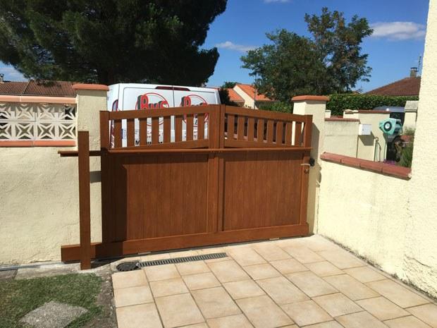 La pose de portails électriques & portes de garage