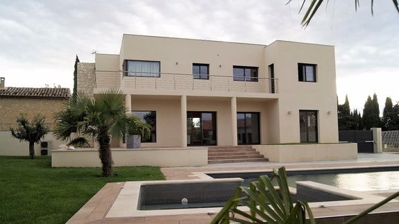 villa construction moderne