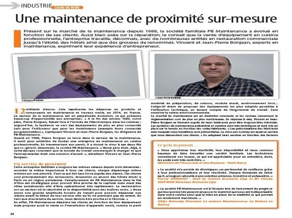 MAINTENANCE  CHR VU PAR PB Maintenance