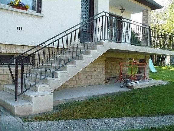 Escaliers en pierre Fabien Mougenot