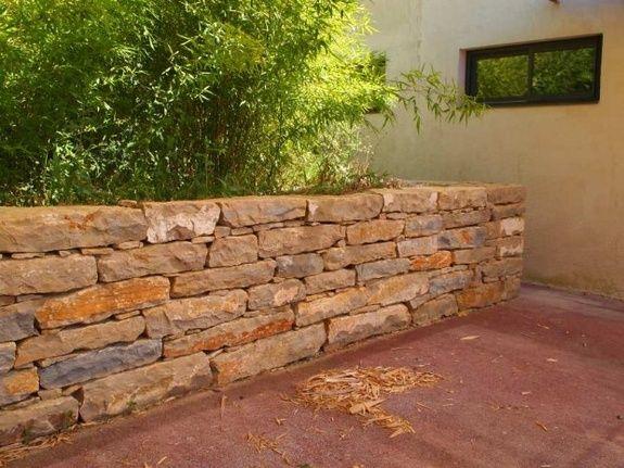 mur cloture pierre naturelle pose de pierre aubagne marseille la ciotat bandol pierre de taille